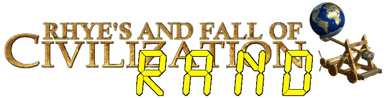 Rhye's and Fall of Civilization RAND - the closest Sid Meier's Civilization mod to civ 5