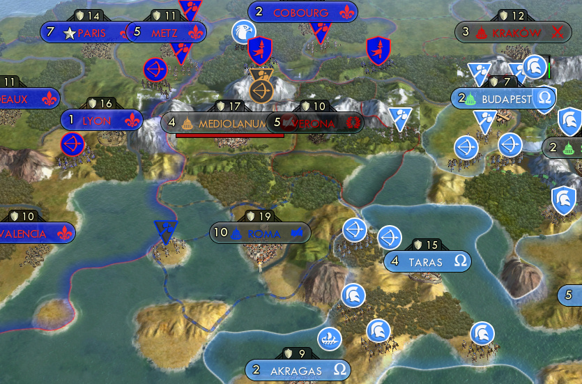 Rhye's and fall of civilization persian strategy